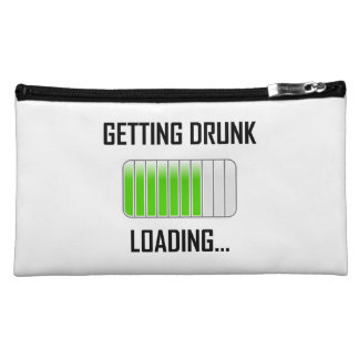 Getting Drunk Loading Funny Makeup Bag