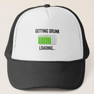 Getting Drunk Loading Funny Trucker Hat