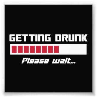 Getting Drunk Please Wait Loading Bar Photo Art