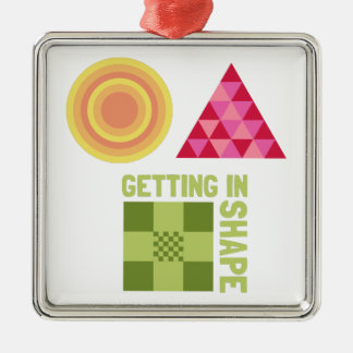 Getting In Shape Christmas Ornament
