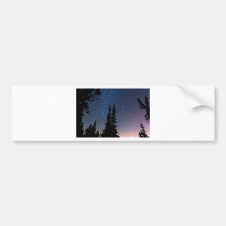Getting Lost In A Night Sky Bumper Sticker