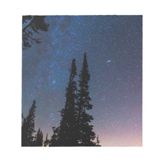 Getting Lost In A Night Sky Notepad
