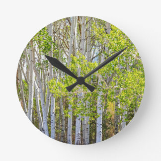 Getting Lost In the Wilderness Round Clock