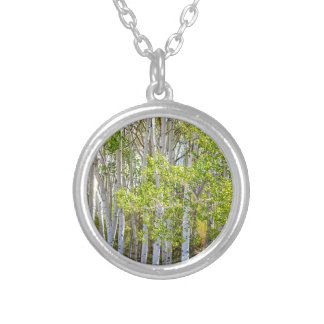 Getting Lost In the Wilderness Silver Plated Necklace