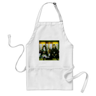 Getting Married in Old Japan The Happy Couple Standard Apron