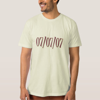 Getting married on 777? T-Shirt