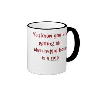 Getting Old Ringer Mug