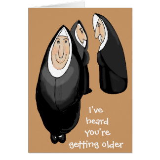 Getting older card