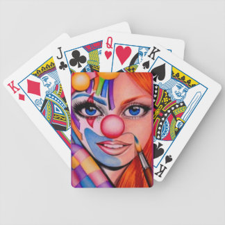 Getting Ready Bicycle Playing Cards