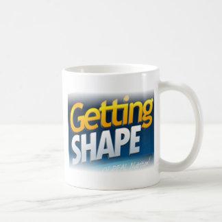 Getting Shape Logo66 Basic White Mug