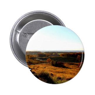 Gettsburg Sunset 6 Cm Round Badge