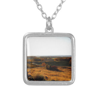 Gettsburg Sunset Square Pendant Necklace