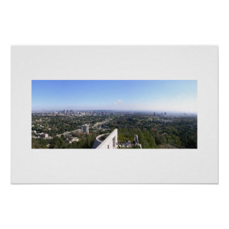 Getty Center View of Los Angeles Poster
