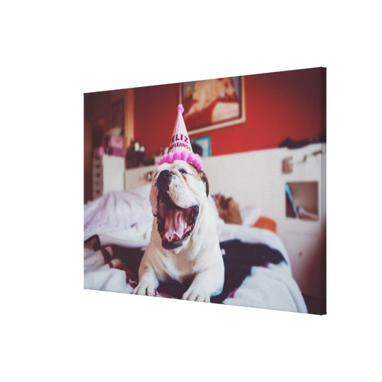 Getty Images | British Bulldog Canvas Print