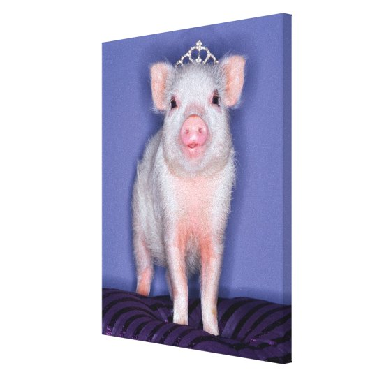 Getty Images | Prize Piglet Canvas Print