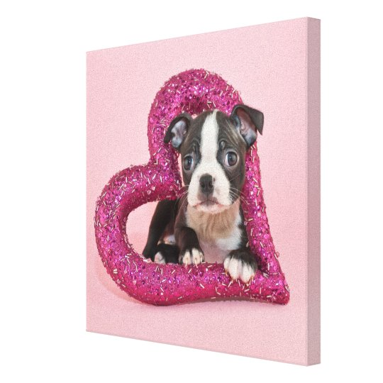 Getty Images   Puppy Love Canvas Print