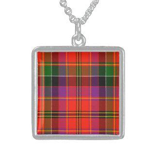 Getty Scottish Tartan Pendant