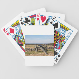 Gettysburg: A view of Pickett's Charge Bicycle Playing Cards