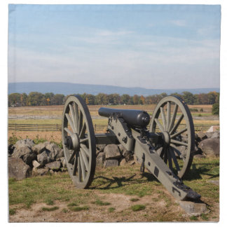 Gettysburg: A view of Pickett's Charge Napkin