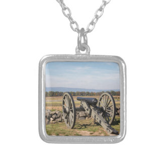 Gettysburg: A view of Pickett's Charge Silver Plated Necklace