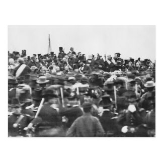 Gettysburg Address, Abraham Lincoln Postcard