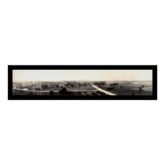 Gettysburg Battlefield Photo 1918 Poster