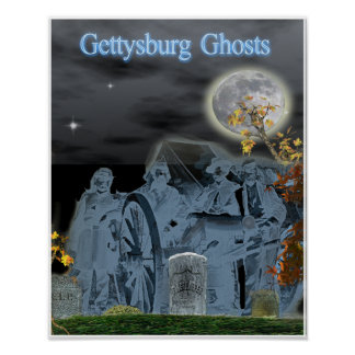 Gettysburg Ghosts Paranornal Poster