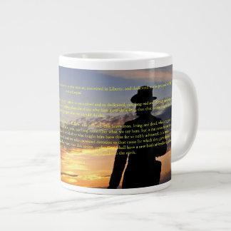 Gettysburg Sunset II Jumbo Mug