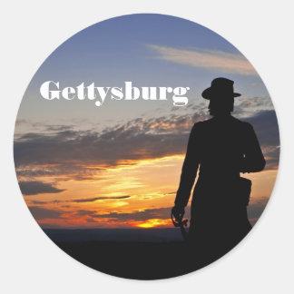 Gettysburg Sunset Sticker