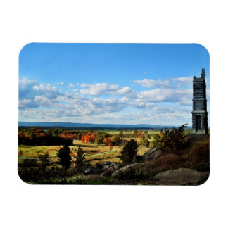 Gettysburg view from Little Round Top Rectangular Photo Magnet