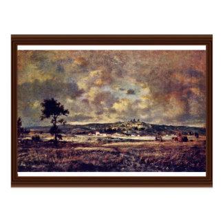 Gewitterstimmung In The Plain Of Montmartre Postcards