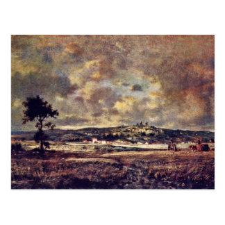 Gewitterstimmung In The Plain Of Montmartre Post Card