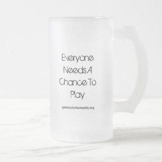 GfH Mug, Frosted, Logo & Slogan, Large
