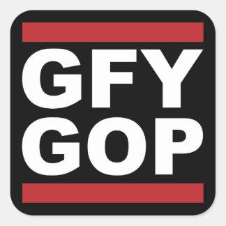 GFY GOP Sticker