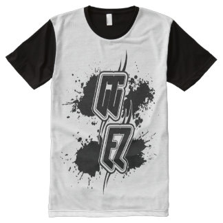 "GG EZ ""Good Game Easy"" All-Over Print T-Shirt"