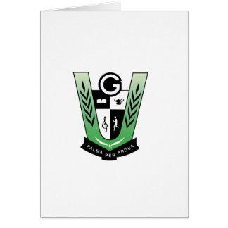 GGMSS 60th Alumni Reunion Crest Products Card