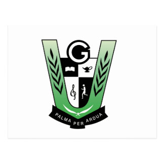 GGMSS 60th Alumni Reunion Crest Products Postcard