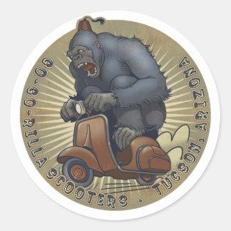 GGR Color Logo Sticker