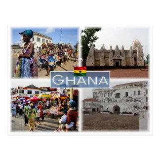 GH Ghana - Postcard