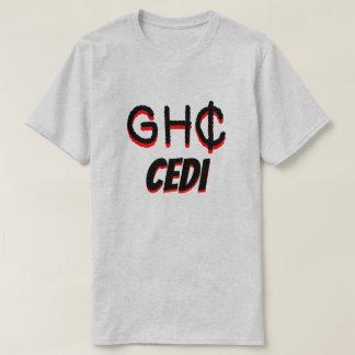 GH₵ Ghanaian cedi grey T-Shirt