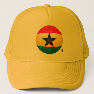 Ghana - Black Stars Football Trucker Hat