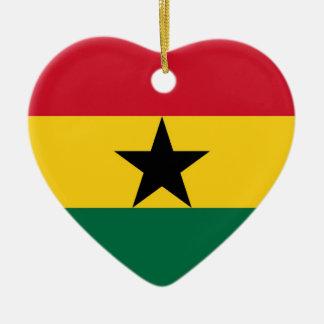 GHANA CERAMIC HEART DECORATION