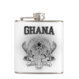 Ghana Coat of Arms Flask