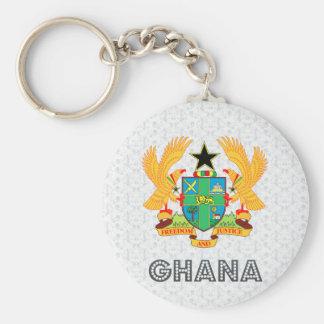 Ghana Coat of Arms Key Ring