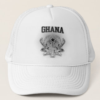 Ghana Coat of Arms Trucker Hat