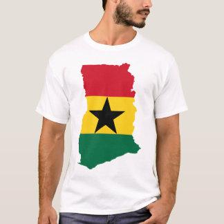 Ghana flag map T-Shirt