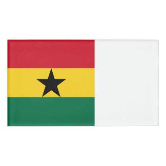 Ghana Flag Name Tag