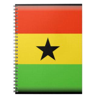 Ghana Flag Notebook