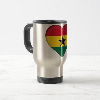 Ghana Flag Travel Mug