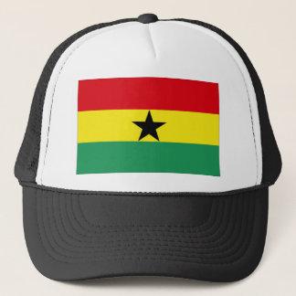 Ghana Flag Trucker Hat